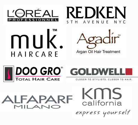 Hair care logos